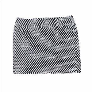 Lane Bryant patterned skirt